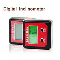 4x90 Degree Digital Inclinometer precision digita l bevel angle protractor