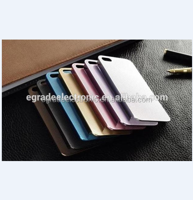 Wholesale Metal Case with Screen Guard Net Ultra Thin Metal Aluminum Hard Case For iPhone 5 5G