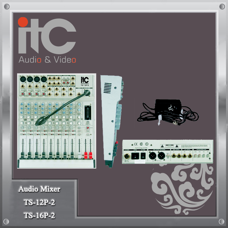 ITC TS Series 12 or 16 Channel Digital Audio Mixing Console