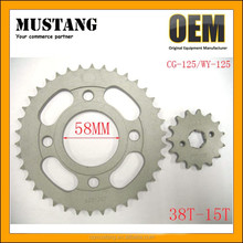 Chinese Motorcycle Sprocket Set OEM Motorcycle Parts Chains and Sprockets