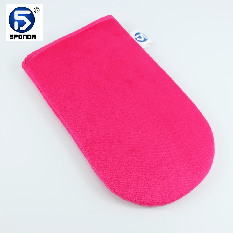Long Lifetime Re Washable Back Tanning Mitt