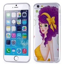 Brand Phone Case for iphone6,korea mobile phone accessories , silicon phone case machine
