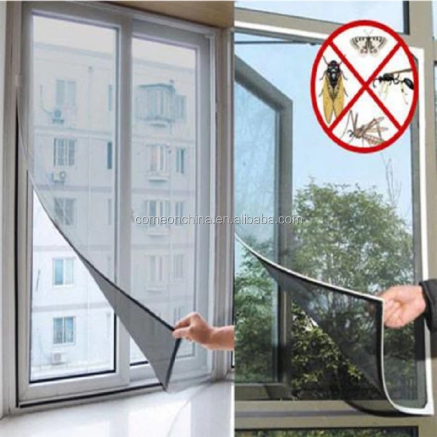 Insect Bug Mosquito Mesh Screen Curtain Protector Window
