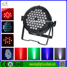 Best price DMX rgbw/rgba led par 64 led par can 54x3W led par light