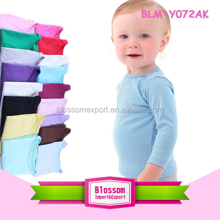 95%cotton 5% spandex 3/4 sleeve kids children blank raglan t shirt wholesale boys plain raglan t shirt