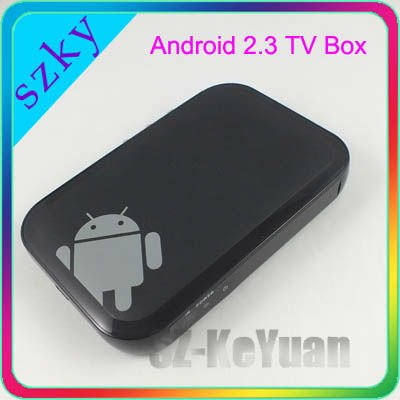 2012 Newest 1080P Android 2.3 TV Box, Internet Receiver, Android Media player