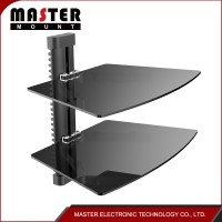 Tv Wall Mount With Dvd Bracket Set-Top Box Glass Tv Mount Dvd Wall Bracket