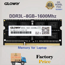 HOT SALE laptop ddr3l ram 4gb 8gb 1.35v with MLC original chips