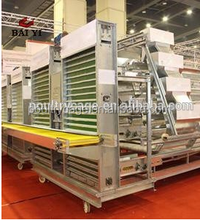 Baiyi Sale Automatic Egg Collection For Chicken Egg Poultry Farm