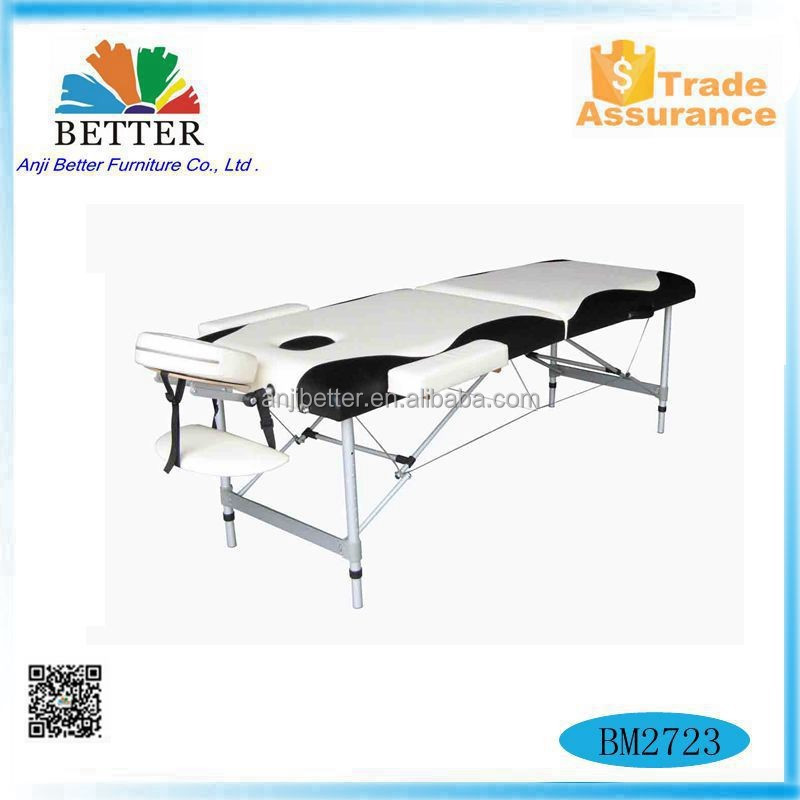 Better 2016 mix color Modern aluminium portable massage table,treatment bed