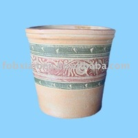 Mexican outdoor mini terracotta pots wholesale