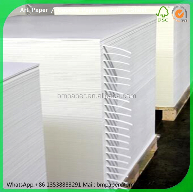 double sided coated 200gsm gloss art paper Cover printing