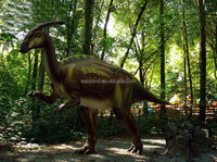 exhibition Model of Animatronic Dinosaur in dinosaur discovery land