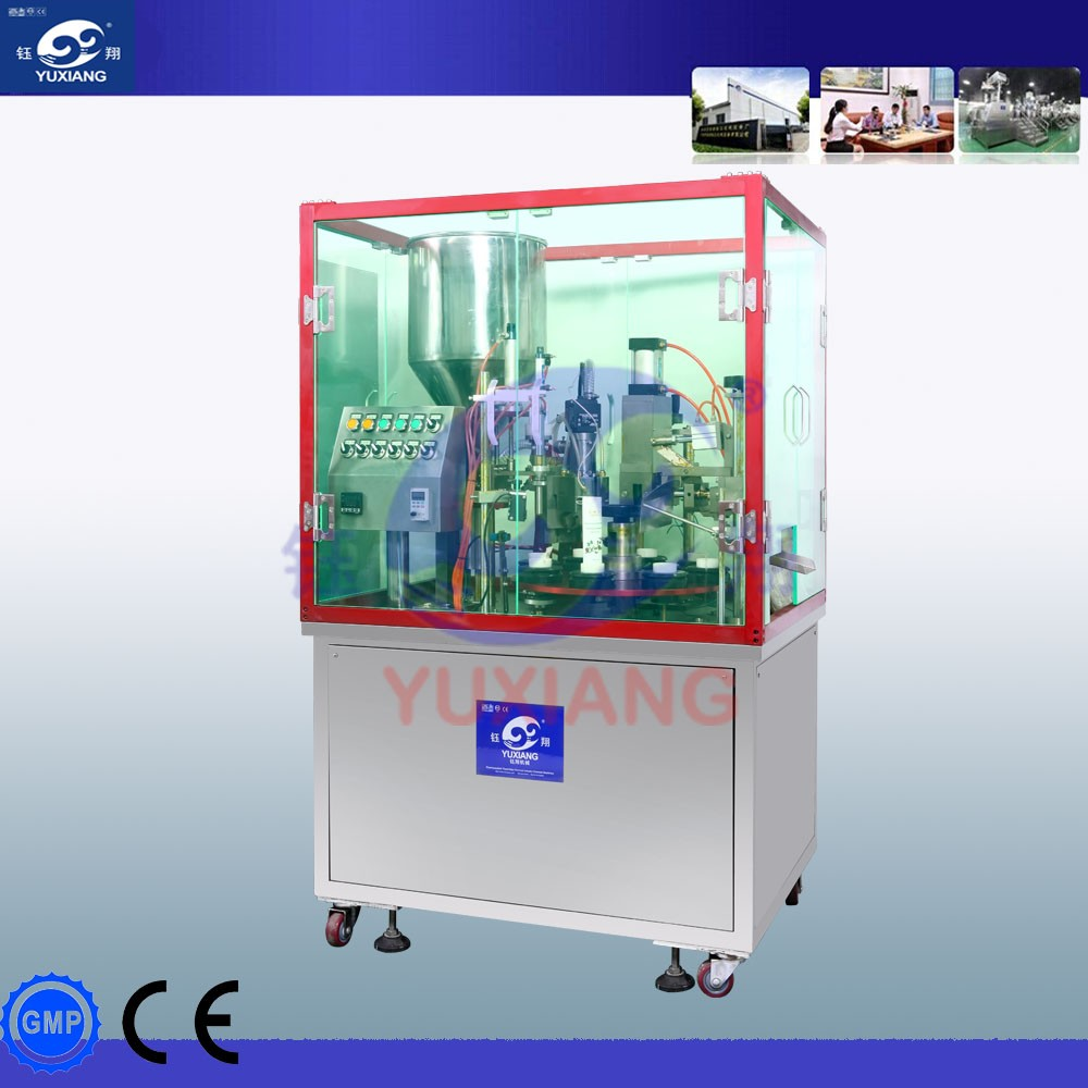 High quality grease tube filling machine semi automatic tube filling sealing machine