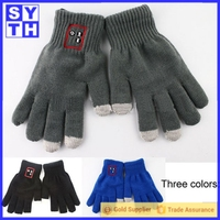 High Quality Customized phone touch Gloves /Touch Screen Gloves Winter Use For Skiing
