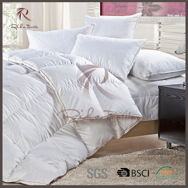 Cotton filling comforter king set, made in china bedding set