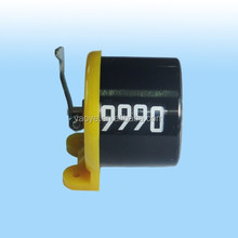 CT10-A3 4 digit mechanical yellow hand tally counter