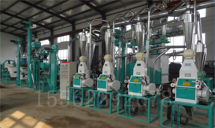 Corn maize flour milling machine corn flour processing machine line 10TPD
