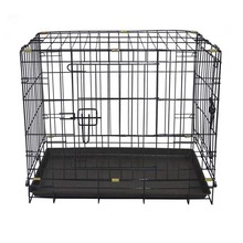 High Quality Wholesale Cheap Iron Folding Double Dog Cage MHD002