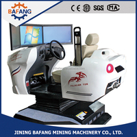City and 3d/4d school teaching driving car/training simulator