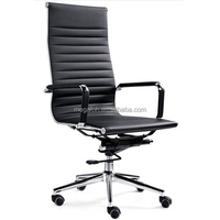 India modern pu leather hight adjustable anji office chair (FOHF11-AL)
