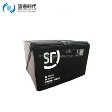 Corrugated plastic express delivery box