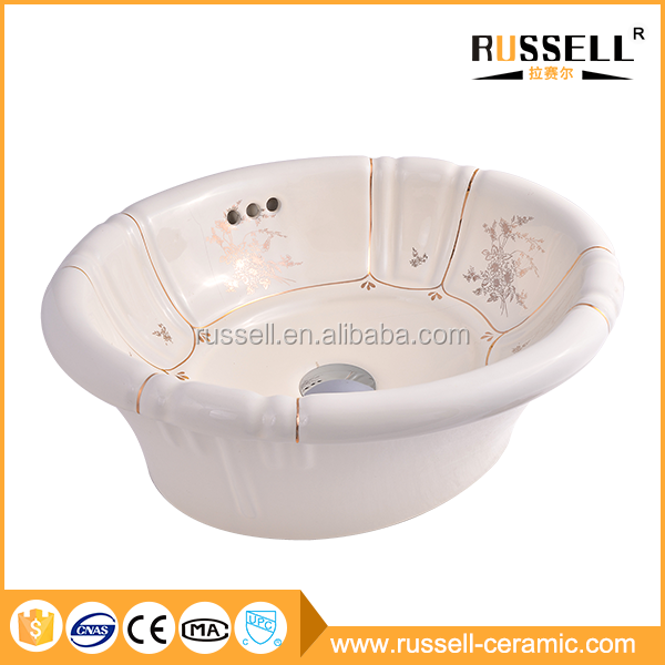 China factory priducts custom artistic bathroom wash basin sink
