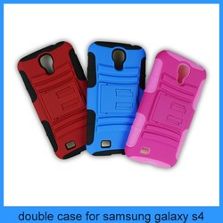 double case for samsung galaxy s4 i9500 case
