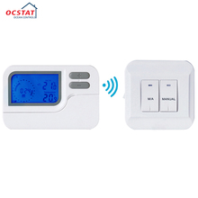 Boiler Heating Blue Backlight Room Battery Operated 7 Day Programmable Thermostat