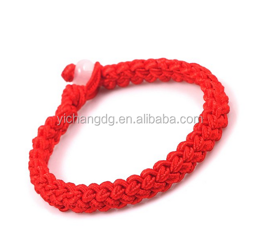 Chinese Handmade Red String Bracelet For Prosperity,Success,Health and Love