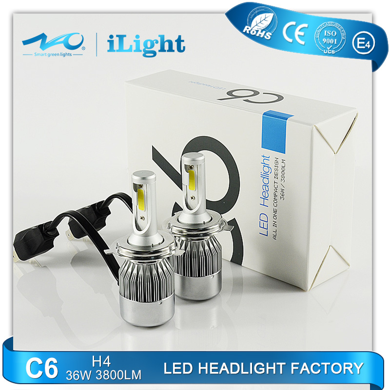 2016 New automobile Product H1 H4 H7 H11 Crees Car Led Headlight Bulbs