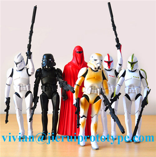 High quality Unique MG Series Gundam plastic models as hot toys action figures made in dongguan