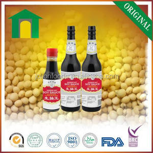 Natural Brewing Kikkoman Style Light Soy Sauce Halal Soy sauce