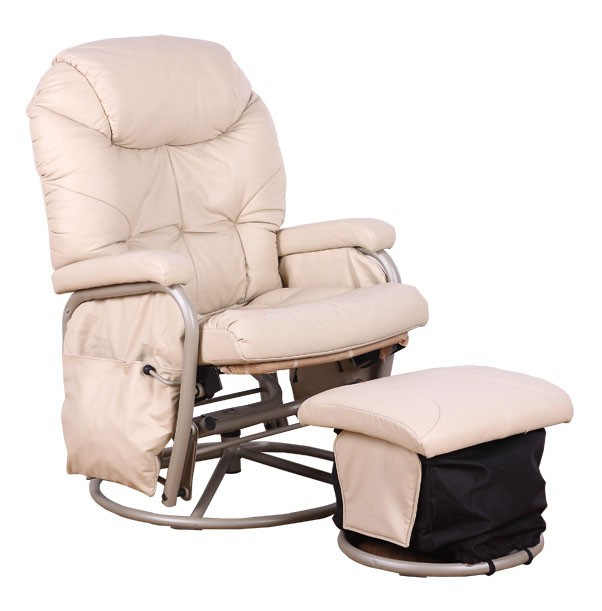 Swivel Rocking Glider Chair/ Rocking hold baby chair/Nursing chair