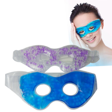 Cold facial mask hot freezer therapy patch anti-fatigue reusable ice eye mask gel eye pads