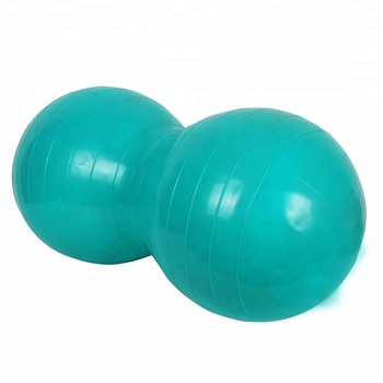 PVC inflatable peanut exercise ball