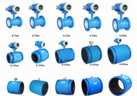 High accuracy, wide range, good quality AUTO electromagnetic flow meter made in China