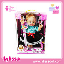 Electronic Star Singing 13 inch singing dancing talking lovely baby doll