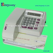 Morden Cheque Writer + Calculator of KSW310