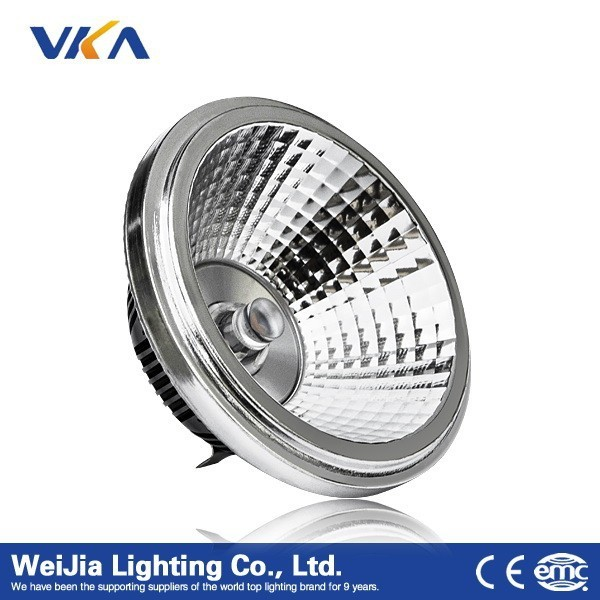 high quality cob dimmable led AR111 lamp,12v g53 led lamp ar111 led lamp ar111 g53 220v