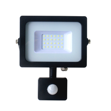 Factory directly sale aluminum small size High Quality IP65 10w led flood light with PIR Senor