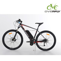 new electric bike model with 27.5 inch and carbon aluminum alloy frame mountain ebike