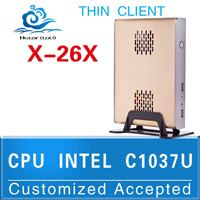 Computer thin client INTEL C1037U Celeron Dual-core 1.8GHz Top Spec Mini Pcs It can run as a stand alone computer