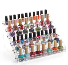 New Design Opi Nail Polish Clear Acrylic Display Rack With Low Price