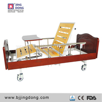 high quality Two function hospital manual bed for nursing home