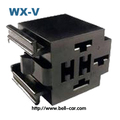electric plug PA6-GF10 male female tube 5 pin relay box DJJ7053A-6.3-21