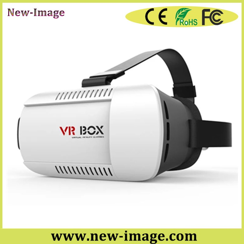 Good price circular polarization 3d vr glasses cardboard google virtual reality headset