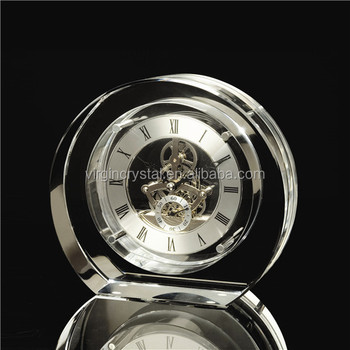 Crystal skeleton mechanical clocks