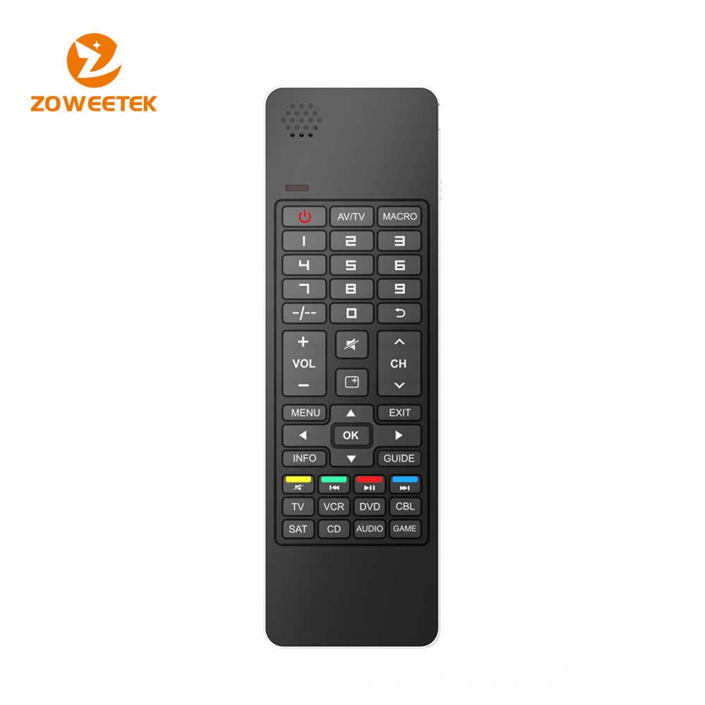 IR Remote Control Air mouse Bluetooth Wireless Keyboard with Speaker and Microphone For Smart TV Box