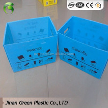 2017 Green brand Coroplast Fruit Packaging Boxes